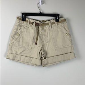 Saks Fifth Avenue Shorts Beige Size 4